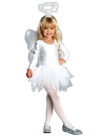 Angel Toddler Halloween Costume, Size 3T-4T by Generic