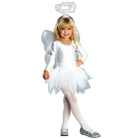 Angel Toddler Halloween Costume, Size 3T-4T](Cemetery Angel Halloween Costume)