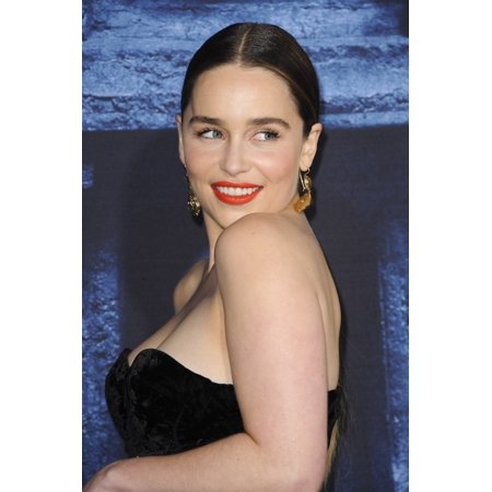 Emilia Clarke At Arrivals For Game Of Thrones Season 6 Premiere The Dolby Theatre At Hollywood And Highland Center Los Angeles Ca April 10 2016 Photo By Elizabeth Goodenougheverett Collection Photo Pr