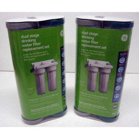 Fxsvc 2 Fxsvc Ge Water Filter Set Dual Stage For Gxsv10