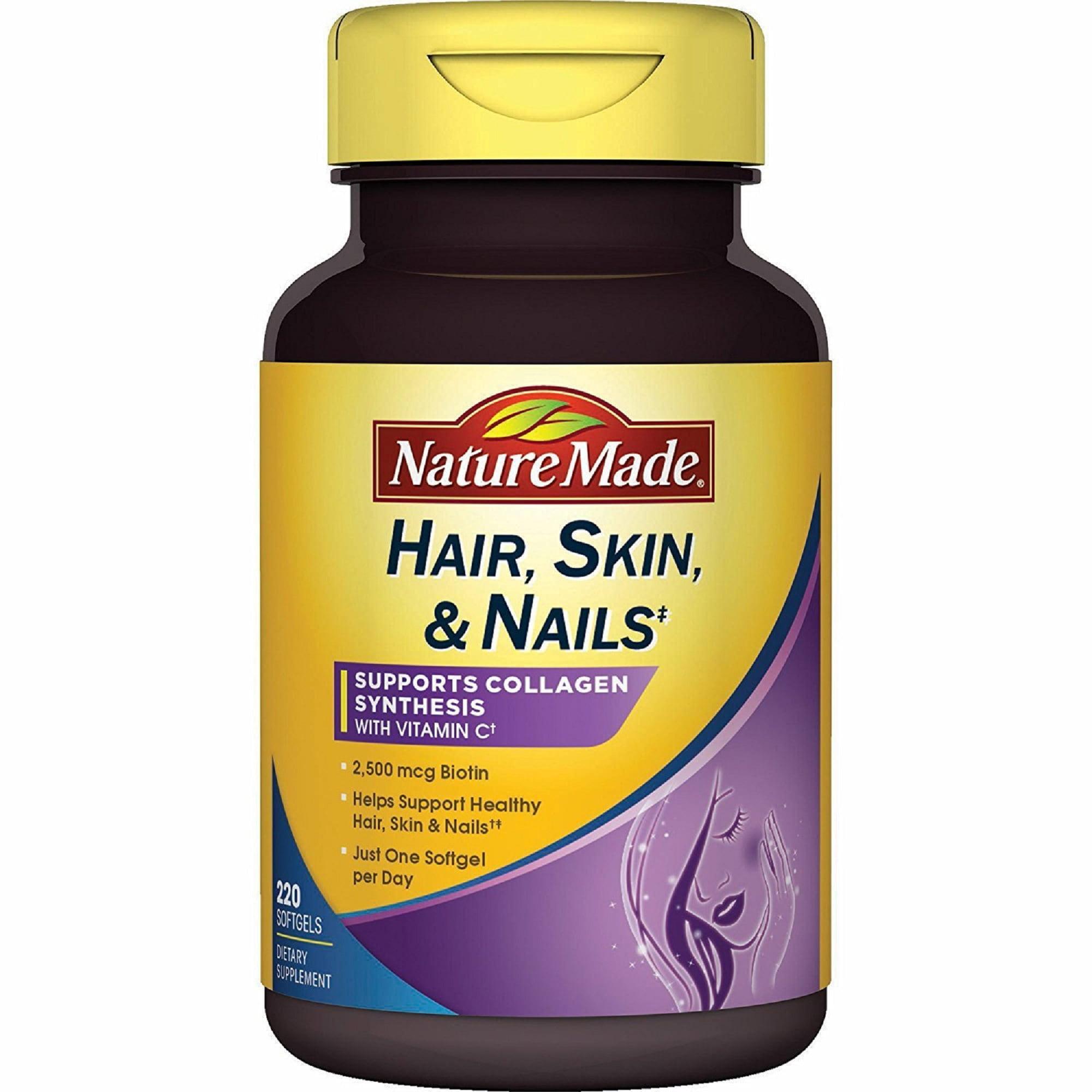 Nature Made Hair, Skin, Nails - 220 Softgels