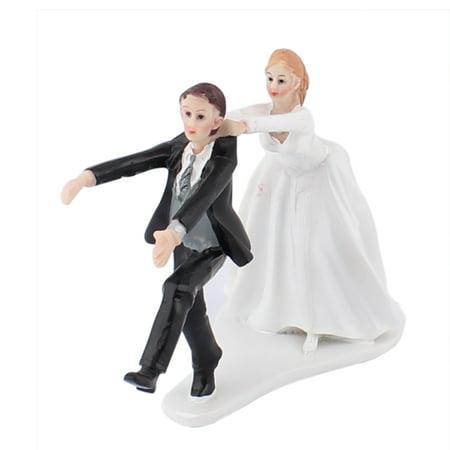 Wedding Gifts For Bride And Groom Walmart : ... Groom Couple Humor Figurine Wedding Cake Topper Decoration Gift