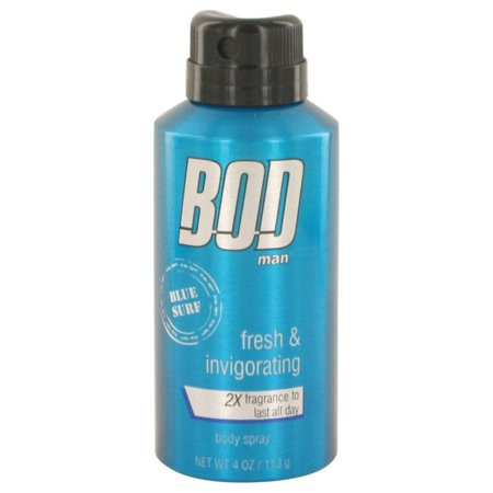 (pack 9) Bod Man Blue Surf Cologne By Parfums De Coeur Body spray4 oz - image 1 of 2