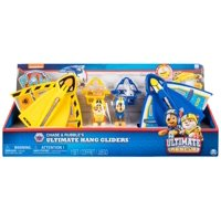 Paw Patrol Ultimate Rescue Chase & Rubble's Ultimate Hang Gliders Figure Set