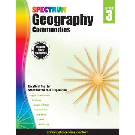 Spectrum Geography, Grade 3 : (Spectrum Geography)