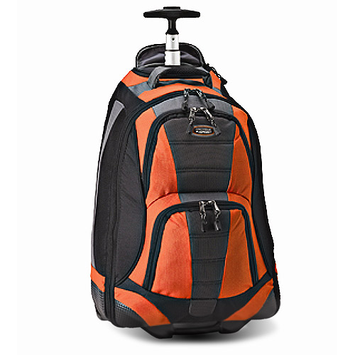 20inch Orange Rolling Backpack - Walmart.com