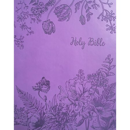 KJV Sword Study Bible Giant Print Designer Purple Ultrasoft : King James