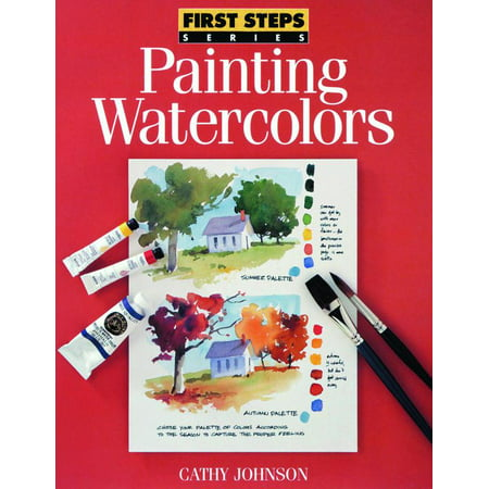 North Light Books First Steps: Painting Watercolor - Halloween Face Painting Step By Step