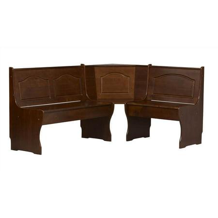 Linon Home Decor Products Inc Chelsea Corner Nook Walnut