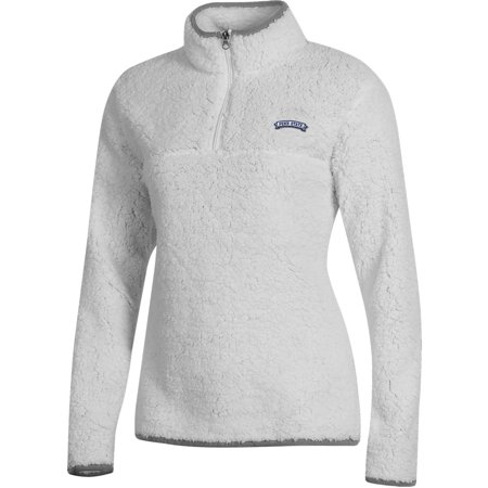 Women's Russell White Penn State Nittany Lions Sherpa Quarter-Zip Pullover - Lions Pullover Jacket