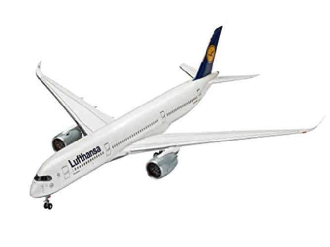 Revell 03938, Airbus A350-900 Lufthansa, 1:144 Scale plastic model by Revell