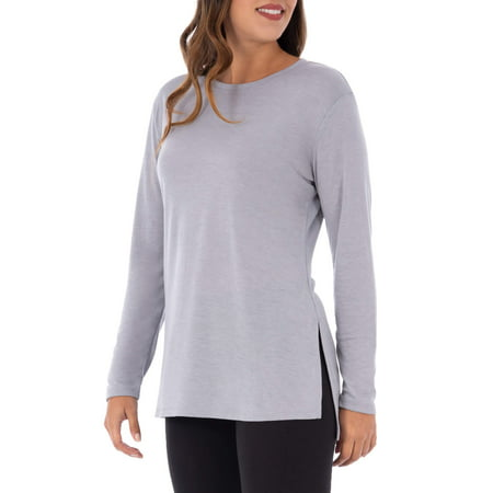 Athletic Works Women S Active Long Sleeve Tunic Length Yoga Top