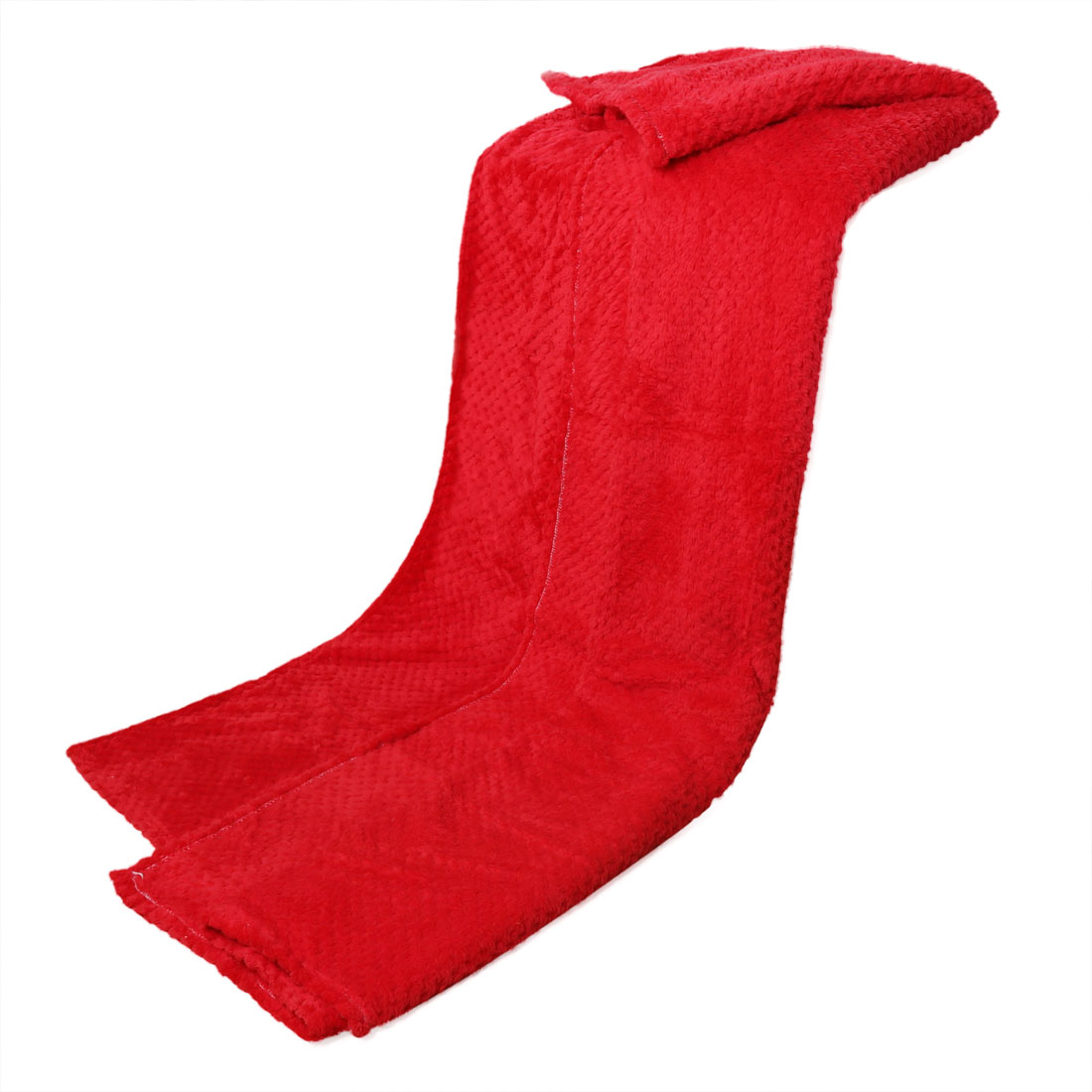 330 GSM Soft Warm Rug Fleece Throw TV Blanket for Couch, Sofa or Bedroom 59 x 47 Inches