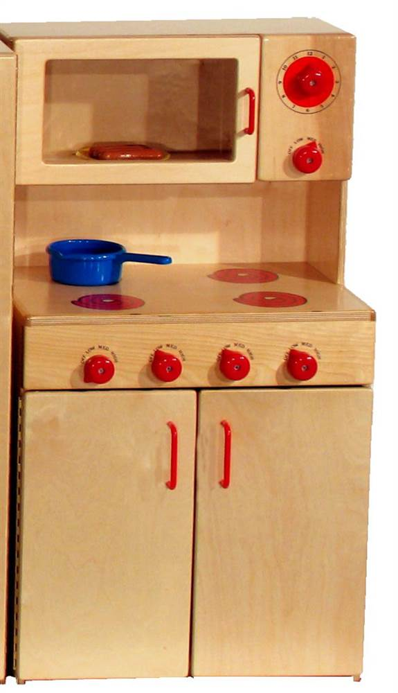 Stove with Microwave for Kids (Preschool) by Strictly for Kids