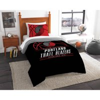 "NBA Portland Trail Blazers ""Reverse Slam"" Bedding Comforter Set"