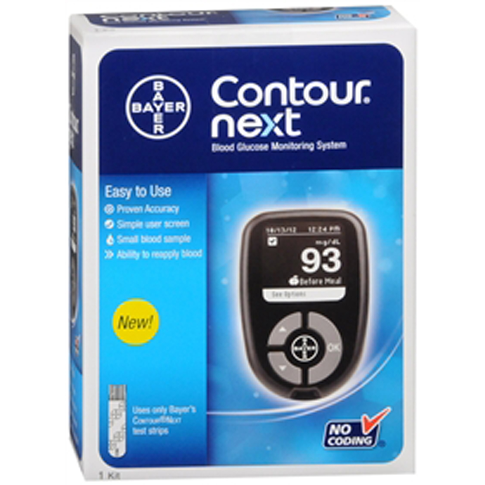 Contour Next Blood Glucose Monitoring System - 1 each