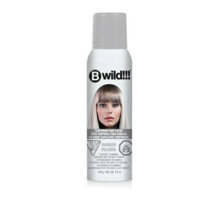 Jerome Russell B Wild Temp'Ry Color Spray, Siberian White, 3.5