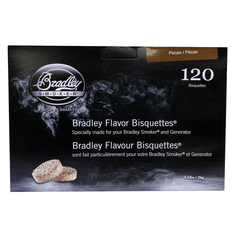 Bradley Smokers Smoker Bisquettes Pecan (120 Pack)