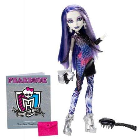 Monster High Picture Day Spectra Vondergeist Doll - Monster High Spectra Vondergeist Dress Up