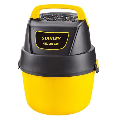 Stanley SL18125P-1 1.5 Peak HP 1 Gallon Portable Poly Wet Dry Vac with Wall-Mount Bracket