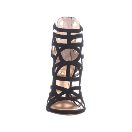 Jerome C. Rousseau Greco Strappy Sandals, Black - image 4 of 6