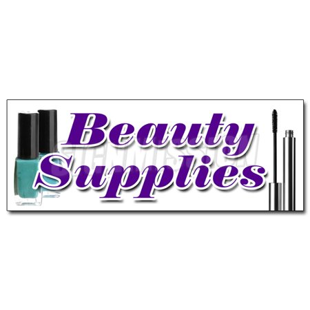 Wholesale Hair Supplies (BEAUTY SUPPLIES DECAL sticker professional hair care wholesale)
