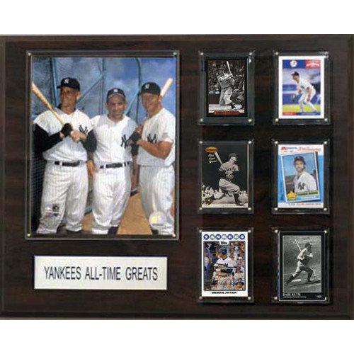 C & I Collectibles MLB New York Yankees All-Time Greats