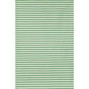 Liora Manne Sorrento Mini Stripe Aqua Indoor/Outdoor Area Rug