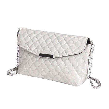 Novadab Asthetic Plaid Embossed Designer Handbag