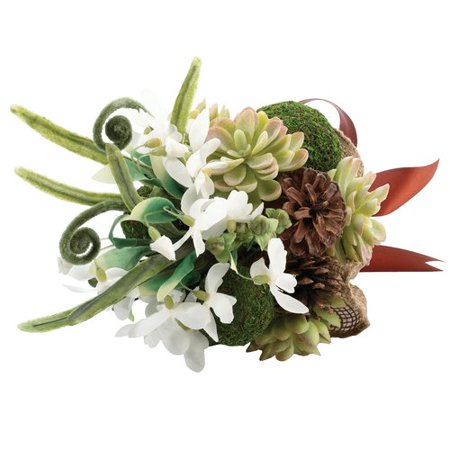 H&c Moss Rose (Lillian Rose Moss Wedding Bouquet )