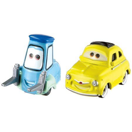 Disney/Pixar Cars 3 Luigi & Guido 1:55 Scale Die-Cast Vehicles