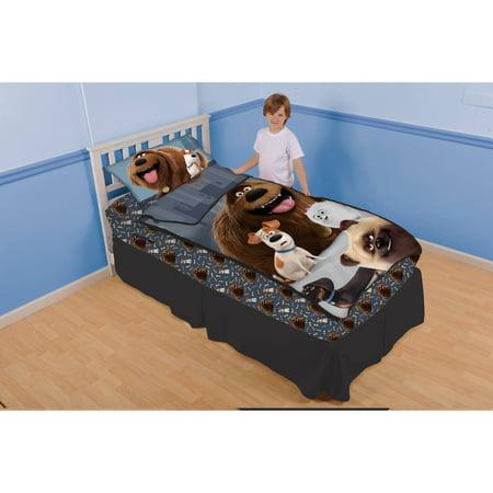 secret life of pets kids bedding blanket fitted sheet pillowcase twin size new ebay. Black Bedroom Furniture Sets. Home Design Ideas