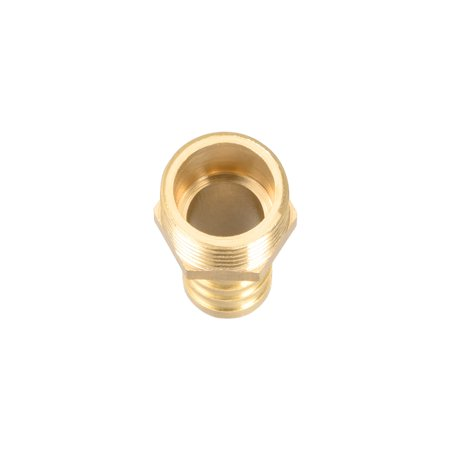 """Brass Barb Hose Fitting Connector Adapter 12mm Barbed x 3/8"""" G Male Pipe 2Pcs - image 2 of 4"""