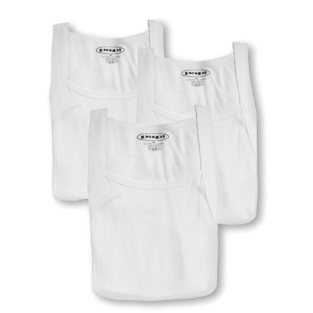 aa487dcd50d859 papi - Men s Papi 559102 Essentials 100% Cotton Square Neck Tank - 3 Pack -  Walmart.com