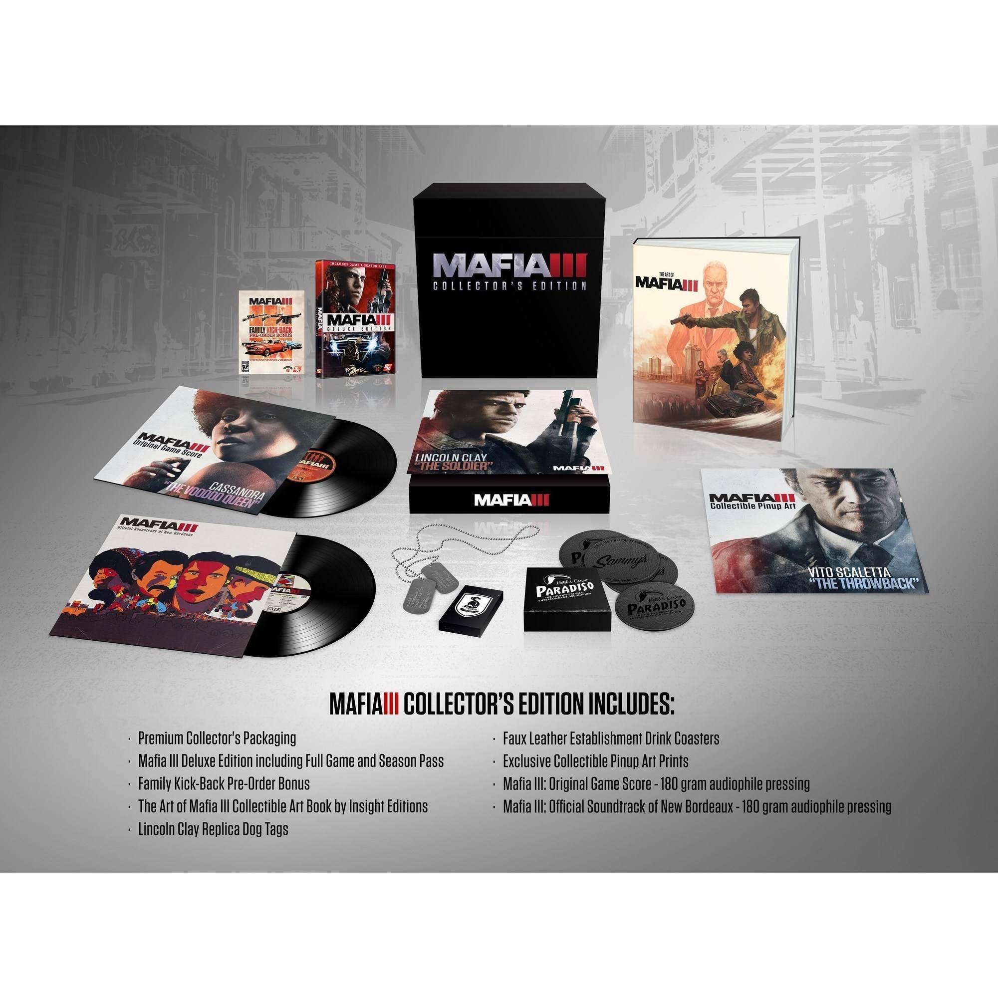 Mafia III Collector's Edition (PS4)