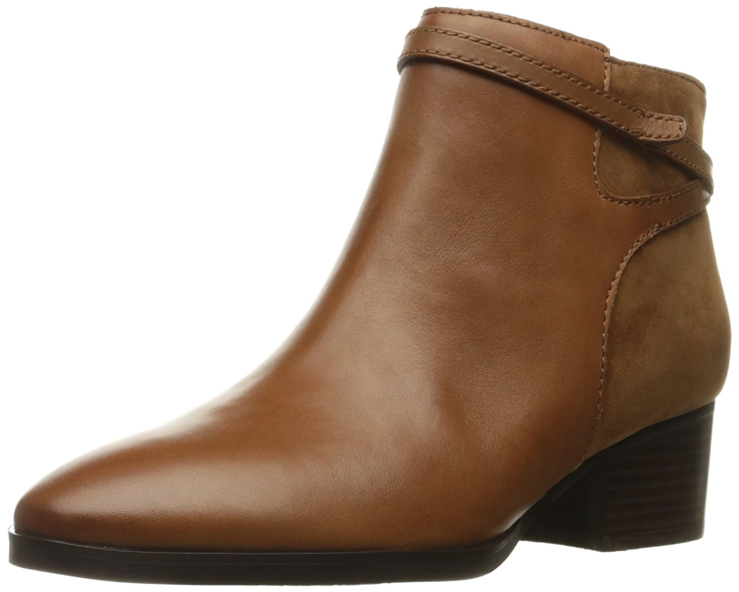 LAUREN by Ralph Lauren Womens DAMARA Leather Closed Toe Ankle Fashion Boots