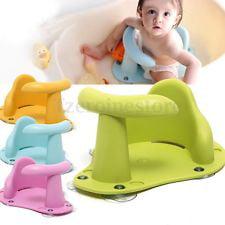Baby Bath Tub Ring Seat Infant Child Toddler Kids Anti Slip Safety