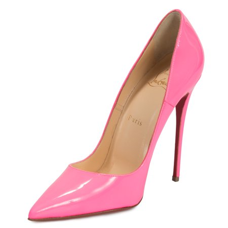 6ae73a7a4aa Christian Louboutin - Christian Louboutin So Kate Fuchsia Patent Leather  100mm Pumps - Walmart.com