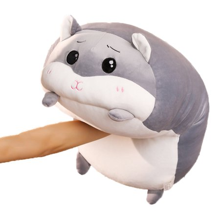 24 Inch Large Hugging Pillow Hamster Plush Stuffed Animals Toy Sleeping Pillow Best Choice for Birthday, Valentines Day, Holiday, Kids, Girlfriend, Girls,