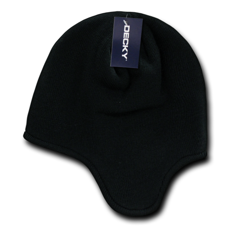 - Decky Helmet Beanies Beany For Men Women warm winter fleece-lined ear flap caps hats ski snow