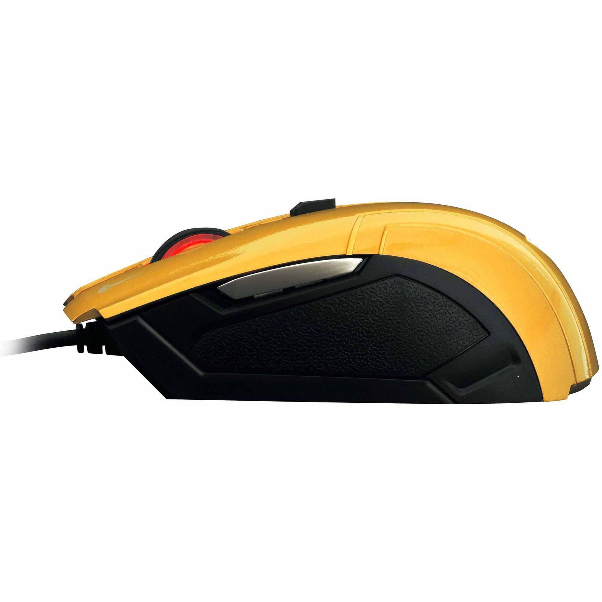 GAMDIAS GMS5000YL DEMETER Optical Gaming Mouse, Gold