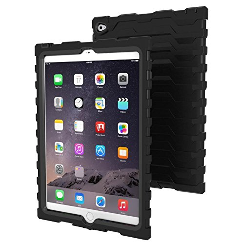 Apple iPad Air 2 Black Shock Drop Hard Candy Cases Silico...