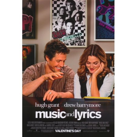Music and Lyrics (2007) 11x17 Movie Poster
