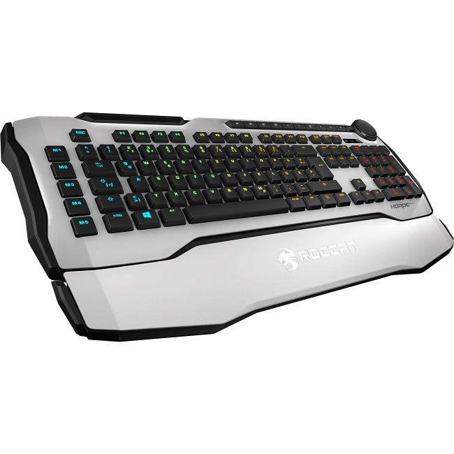 Roccat Horde AIMO Membranical RGB Gaming Keyboard White ROC-12-351-WE