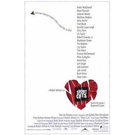 Short Cuts Movie Poster - 11 x 17 in. - image 1 of 1