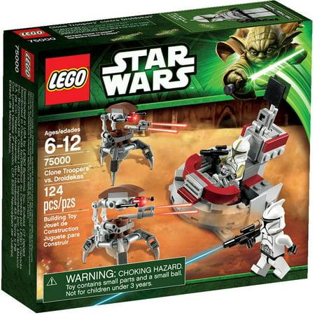 LEGO Star Wars Clone Troopers vs. Droidekas Play Set