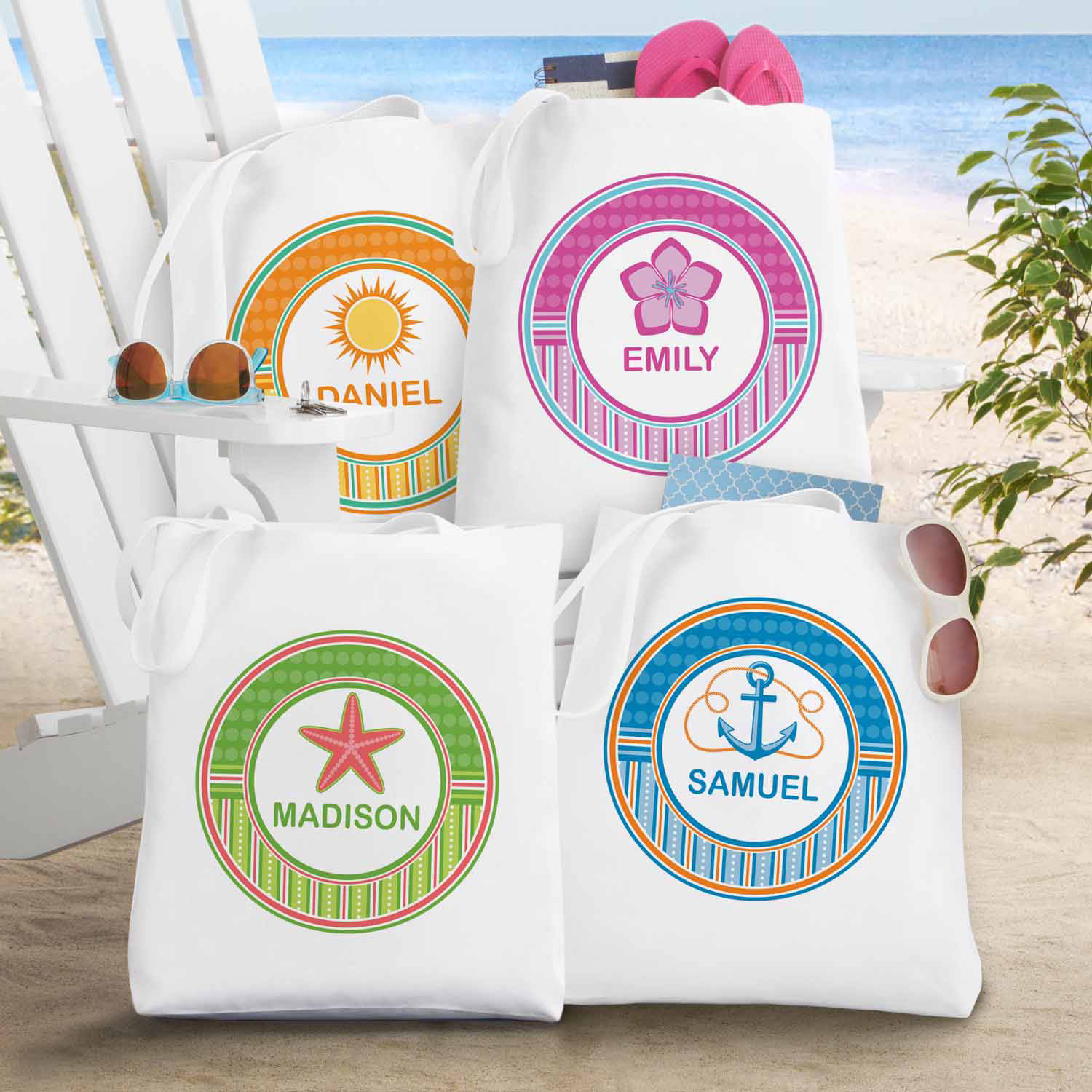 Personalized Cabana Cool Tote
