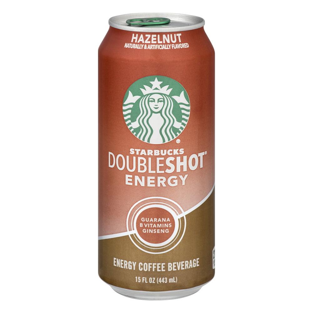 (6 Cans) Starbucks Doubleshot Hazelnut Energy Coffee Drink 15 fl. oz. Can