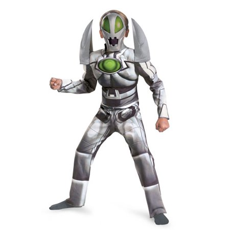 Boys Metanoid Redakai Cartoon Halloween Costume - Halloween Grinch Cartoon