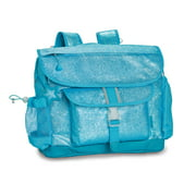 Turquoise Sparkalicious Backpack, Medium
